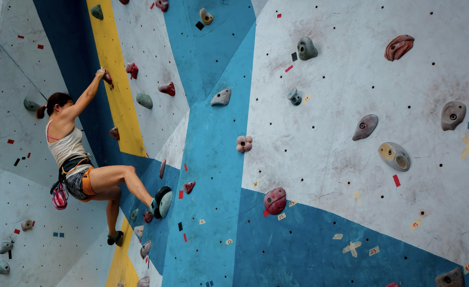 Indoor Climbing In Surrey