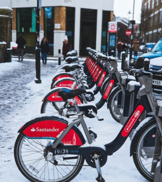 cycling tours in london