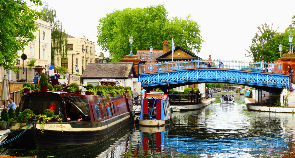 canoeing and kayaking in london, little venice