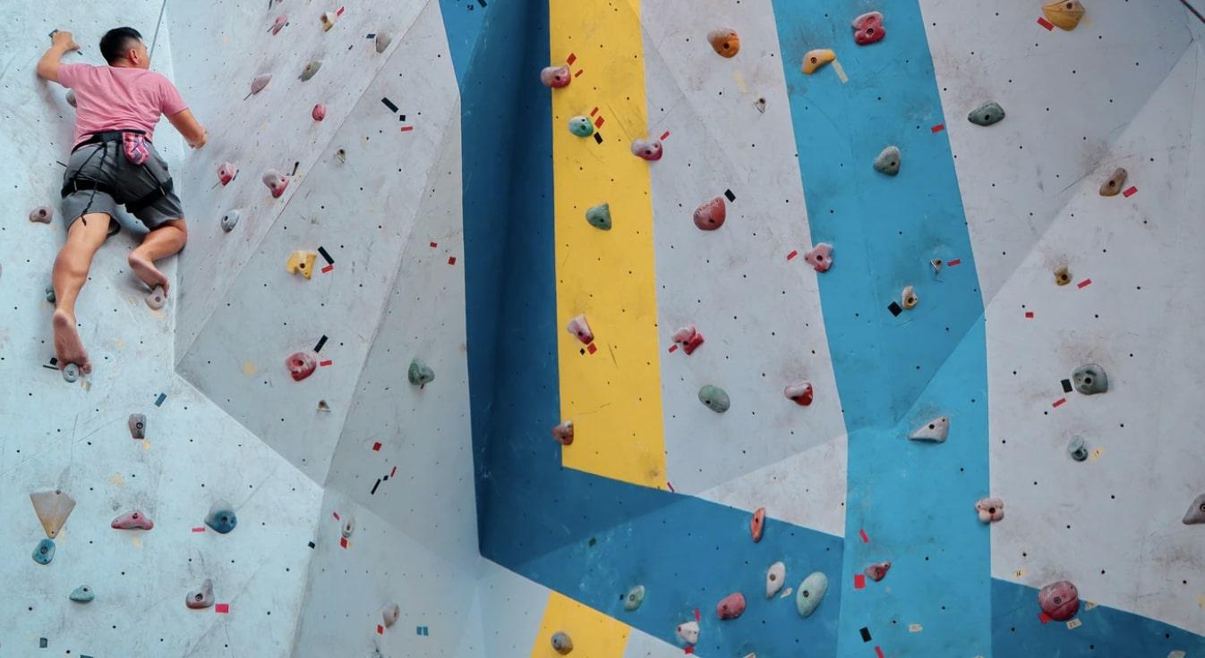 indoor rock climbing in Manchester