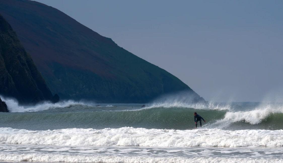 Surfing in UK, Devon