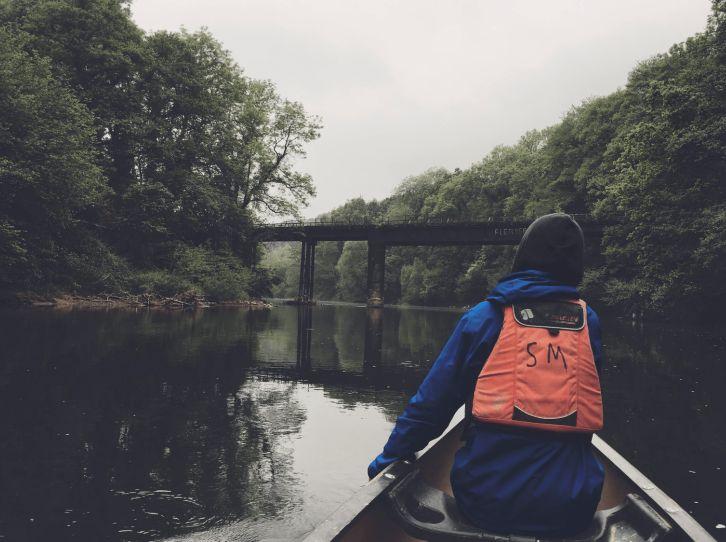 Kayaking River Wye Symonds Yat